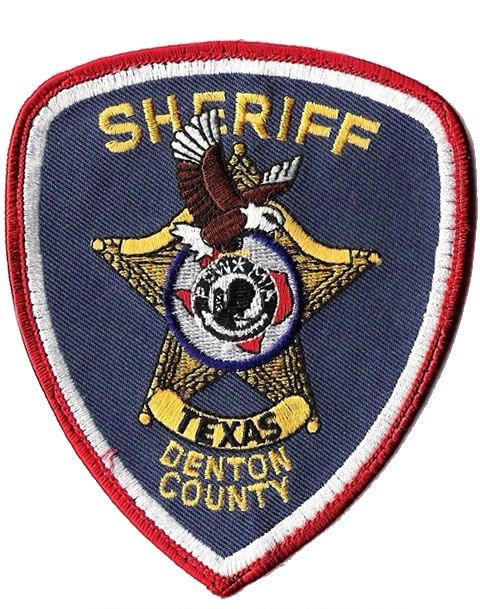 Denton County Sheriff Tx 1 Texas Police Police Patches Ems Patch