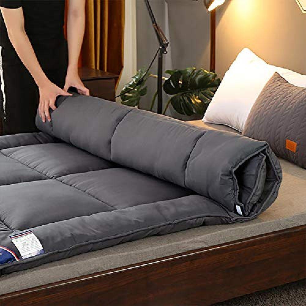 Foldable Thicken Tatami Floor Mat Sleep Mattress NotSlip