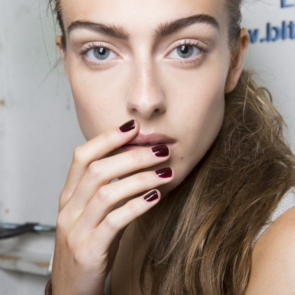 Wine Red - Wine red nail lacquer is a classic, and it looks great on every skin tone. If you prefer deeper hues, stick to this modern take on rouge.