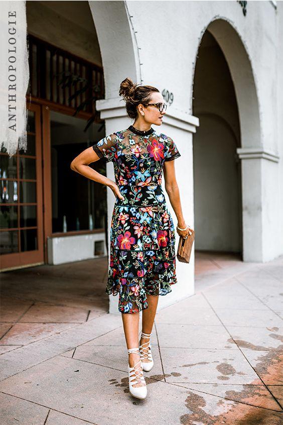 e62368b43733 Janine Embroidered Dress | style | Pinterest | Vestidos, Moda y Ropa