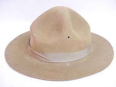 Bollman MONTANA PEAK CAMPAIGN HAT Lemon Squeezer Military Scout Trooper