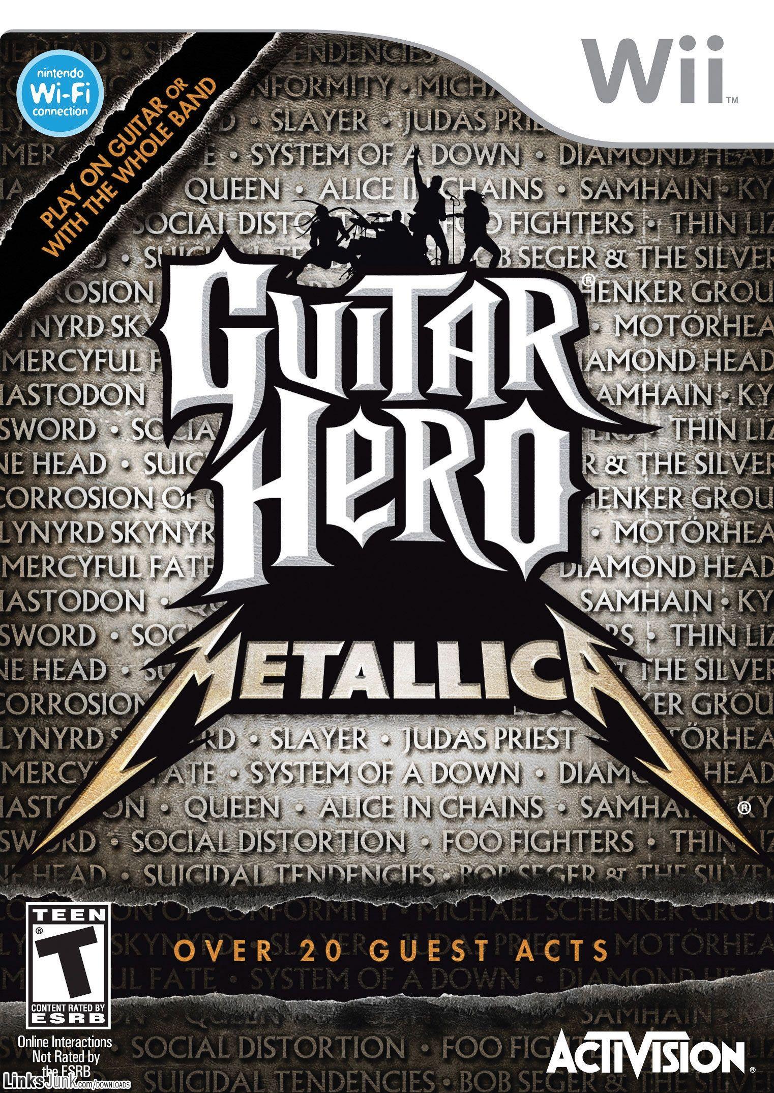 guitar hero metallica wii iso