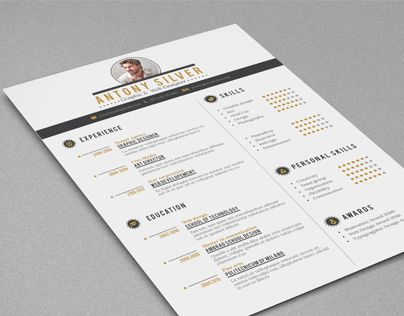 """Check out this @Behance project: """"Resume"""" https://www.behance.net/gallery/15953103/Resume"""