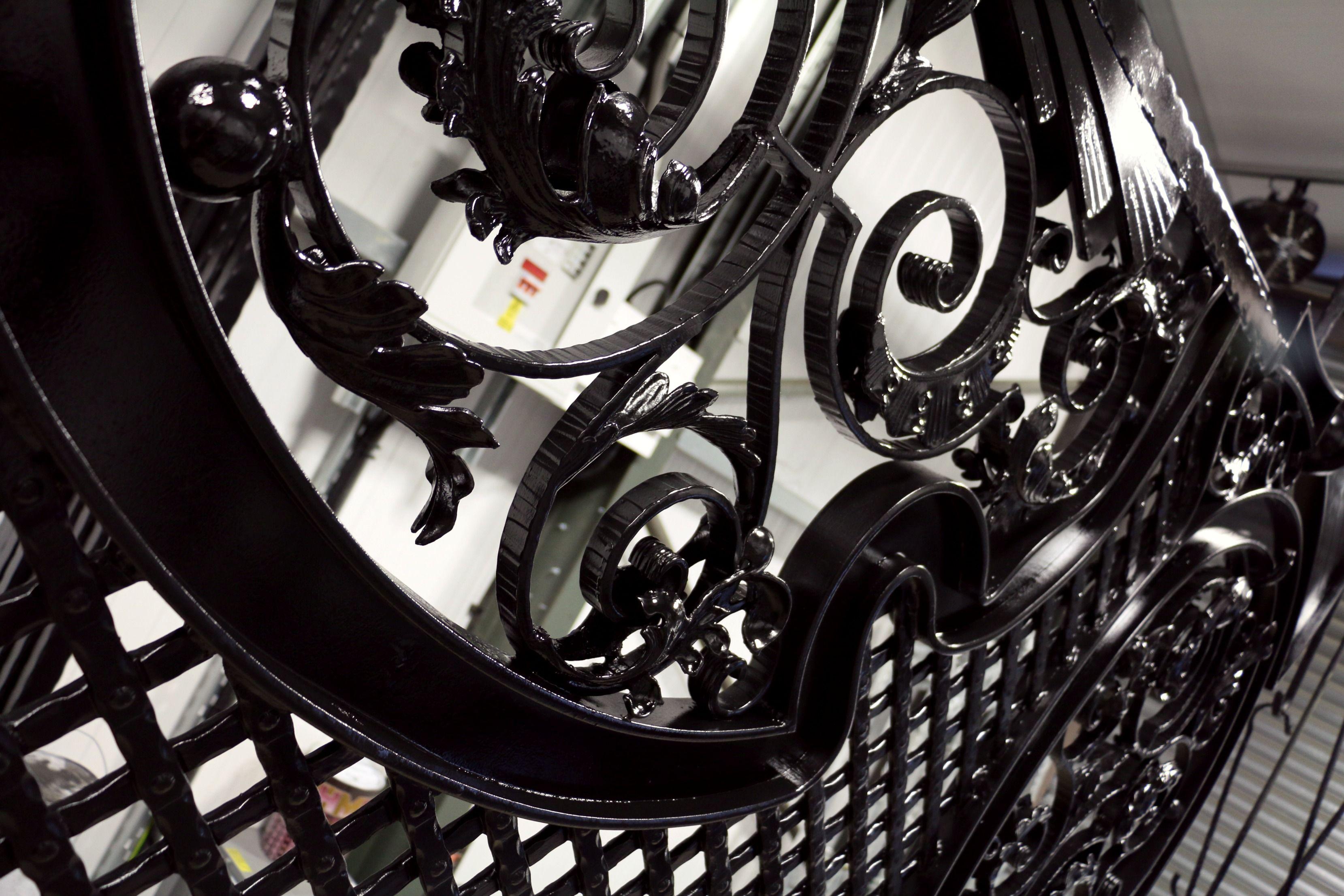 #WroughtIron #Iron #DrivewayGates #Metal #EstateGates #Drive #Garden #Bespoke #Custom #Designer #Modern #Vintage #Contemporary #Entrance #Sliding #Architecture #Privacy #Entry #Victorian #Outdoor #Traditional #Gates #Paint #Black #Shine