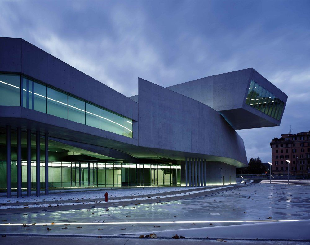 MAXXI National Museum of the 21st Century Arts, Rím.