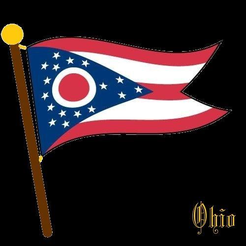 flaggen  flags  ohio  vereinigte staaten von amerika
