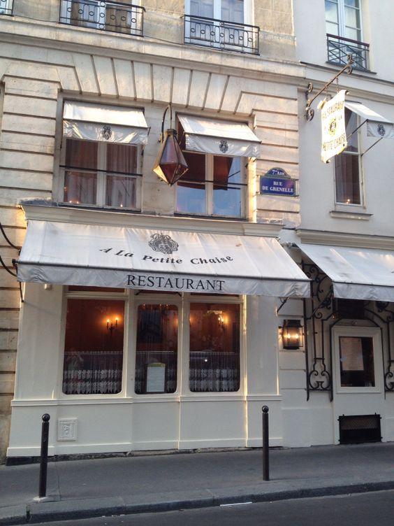 Fond En 1680 Sous Louis XIV A La Petite Chaise Est Le Plus Vieux Restaurant De Paris Established Under Is The