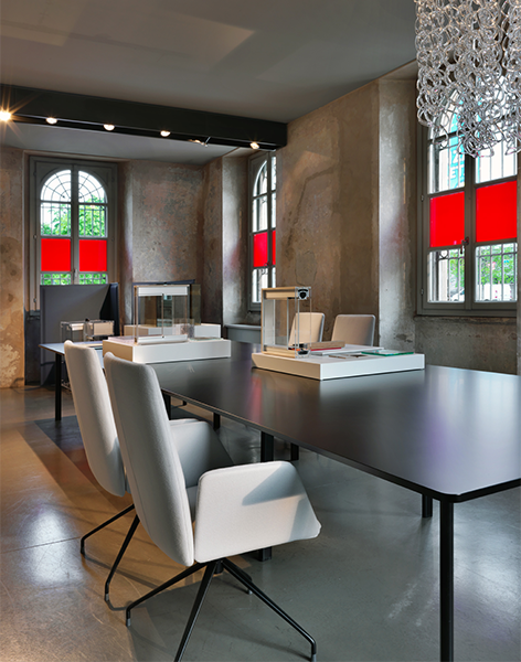 Tecno's exhibition during the Milan Design Week at its