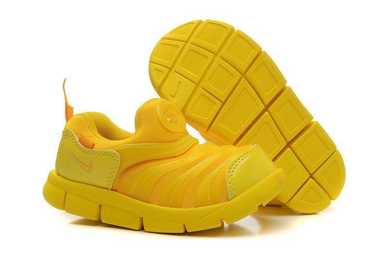 jordan shoes yellow black & white striped caterpillars 752660