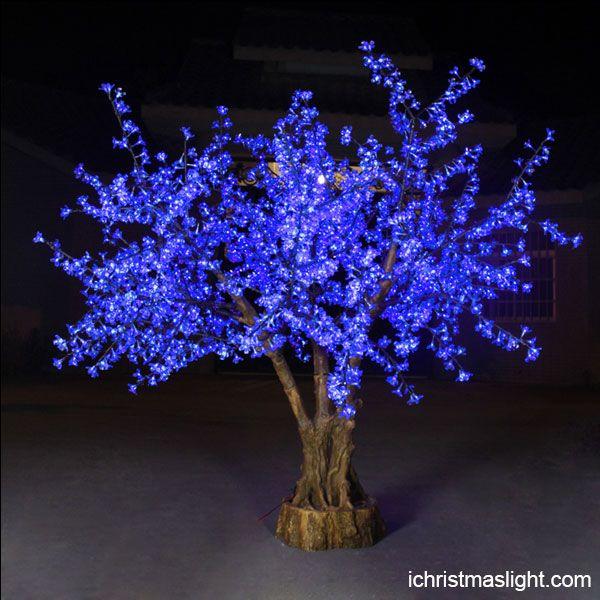 Blue Led Cherry Blossom Tree Wholesale Cherry Blossom Tree Blossom Trees Purple Christmas Tree