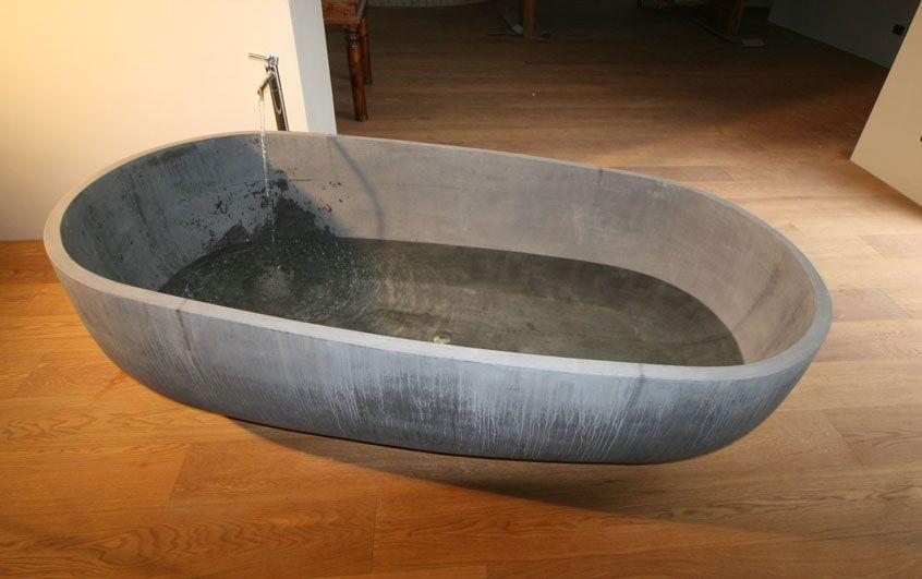 Vasca Da Bagno In Cemento Prezzi : Vasca da bagno cemento home bathtub bathroom design