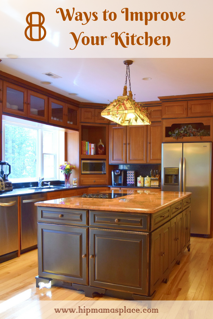 8 Easy And Budget Friendly Ways To Improve Your Kitchen Home Improvement Loans Sears Kitchen Remodel Home Improvement