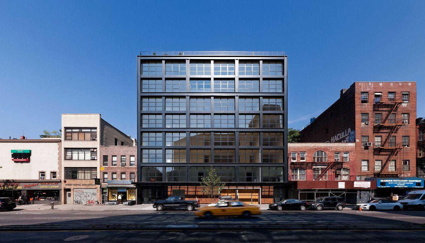 Architecture Modern Brick Steel New York