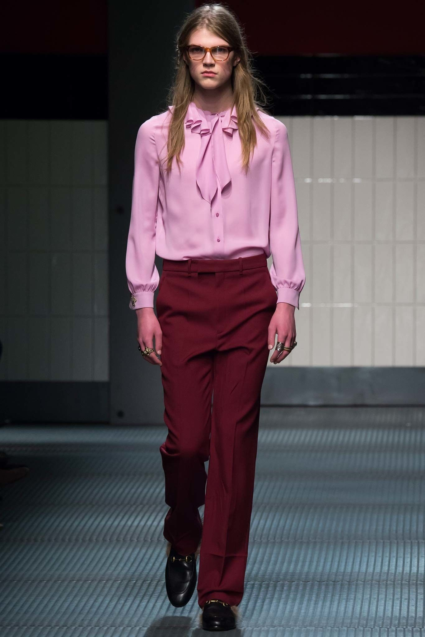 5a637c879d1 Gucci Fall 2015 Ready-to-Wear Fashion Show in 2019 | Gucci | Fall ...
