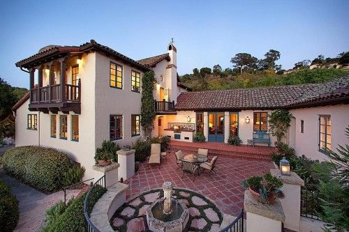 Fine Spanish Style Homes For American Dream Builders Fans Style Inspirational Interior Design Netriciaus