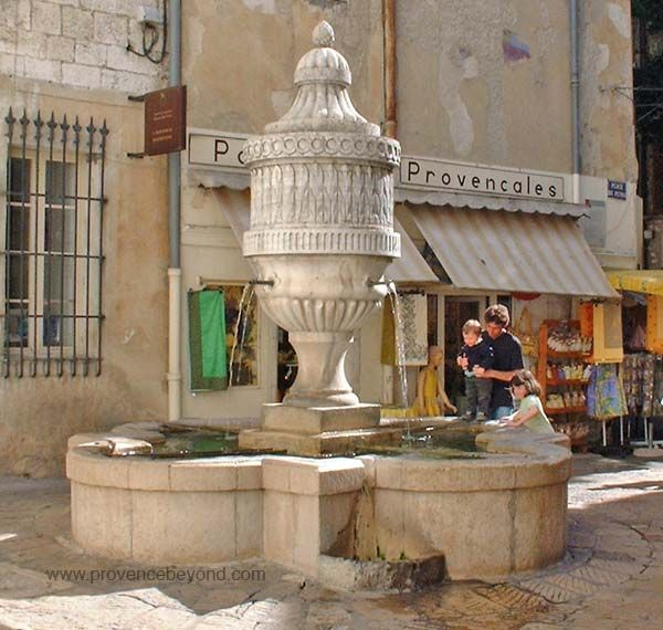 Vence, France--Northwest of Nice--an ancient city.