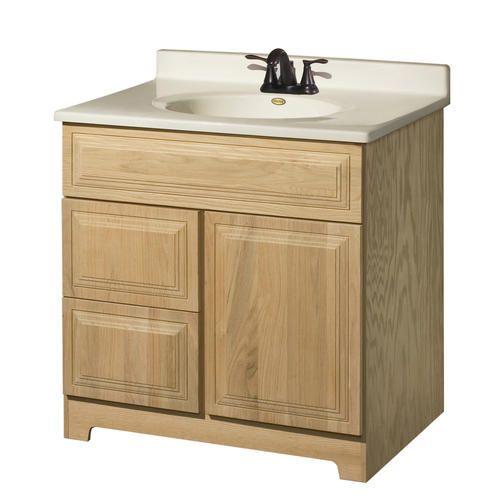 Pace Brockton Series 30 X 18 Vanity With Drawers On Left Bathroom Cabinetsbathroom
