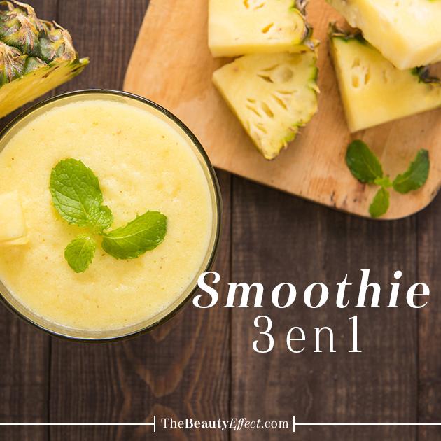 Benéfico y delicioso, ¿Que más buscan en un smoothie? >>>https://goo.gl/LqOLrl La Dra. Julia Salinas Ducker nos comparte esta receta