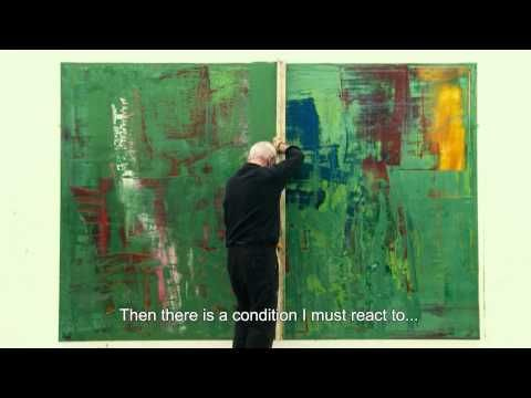 Interesting Modern artist, lovely large color technique, great videos on youtube of him too. - Gerhard Richter Painting (US trailer)