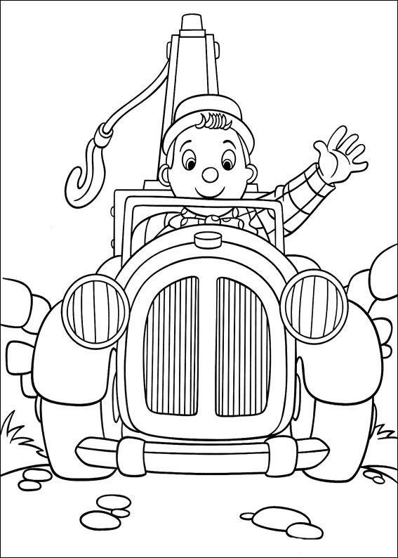 Dibujos para Colorear Noddy 122 | Dibujos para colorear para niños ...