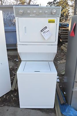 Whirlpool Wgt4027ew 27 Quot White Gas Laundry Center Nob