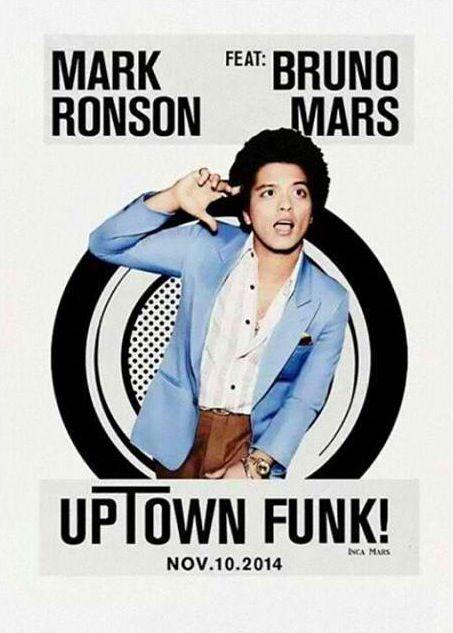 Uptown Funk Bruno Mars Mark Ronson Songs