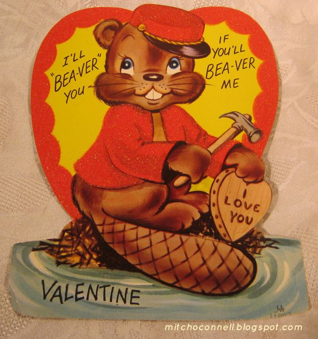 14 Unintentionally Dirty Vintage Valentines Day Cards – Vintage Valentines Card