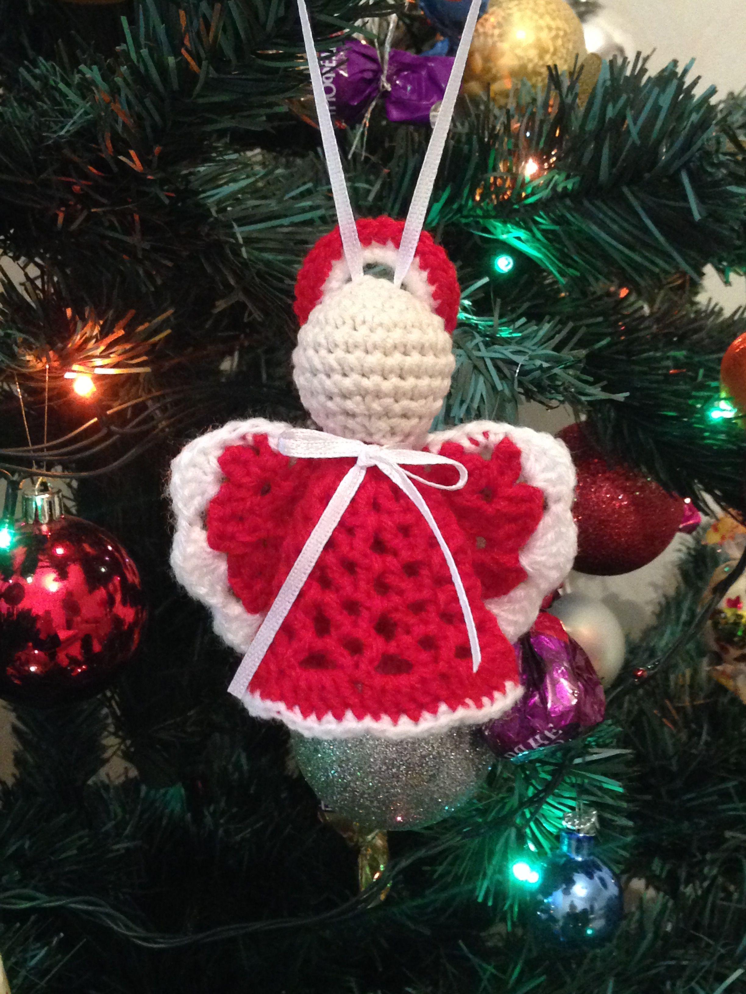 Pin de Marianne en Crochet   Pinterest   Ángeles y Navidad