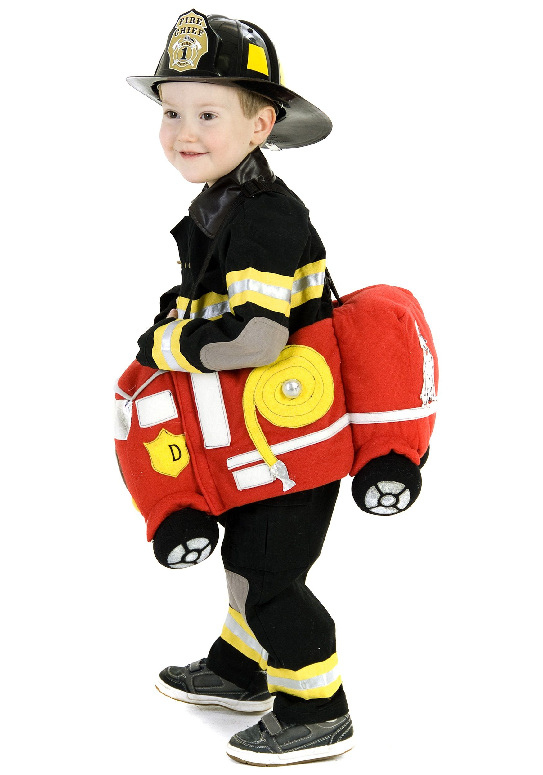 Ride in a Fire Truck Costume | Baby Halloween Costumes | Pinterest ...