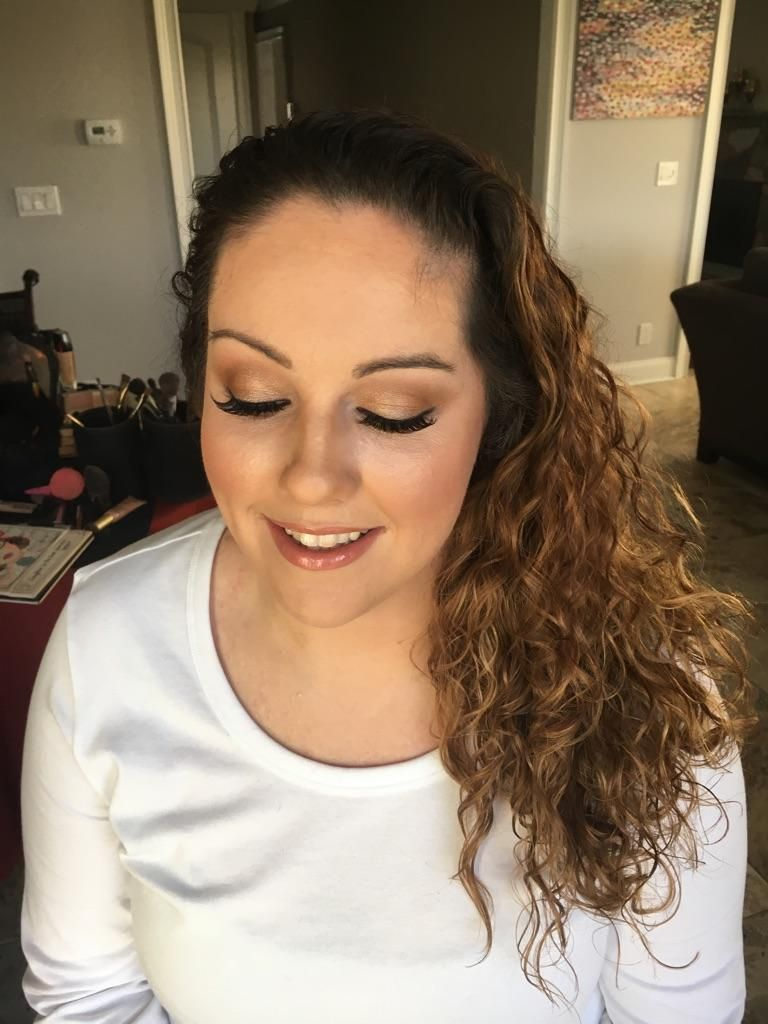 My wedding makeup trial. Still unsure about dewy skin
