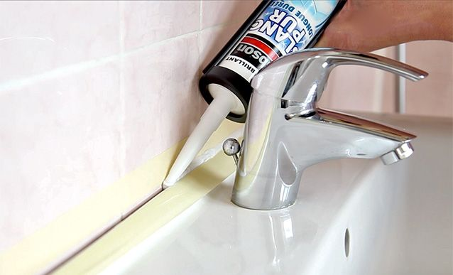 Comment refaire enti rement un joint de lavabo lavabo Refaire ses joints de salle de bain