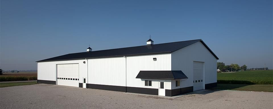 Farm building profile use machine shed for cold storage for Equipment shed