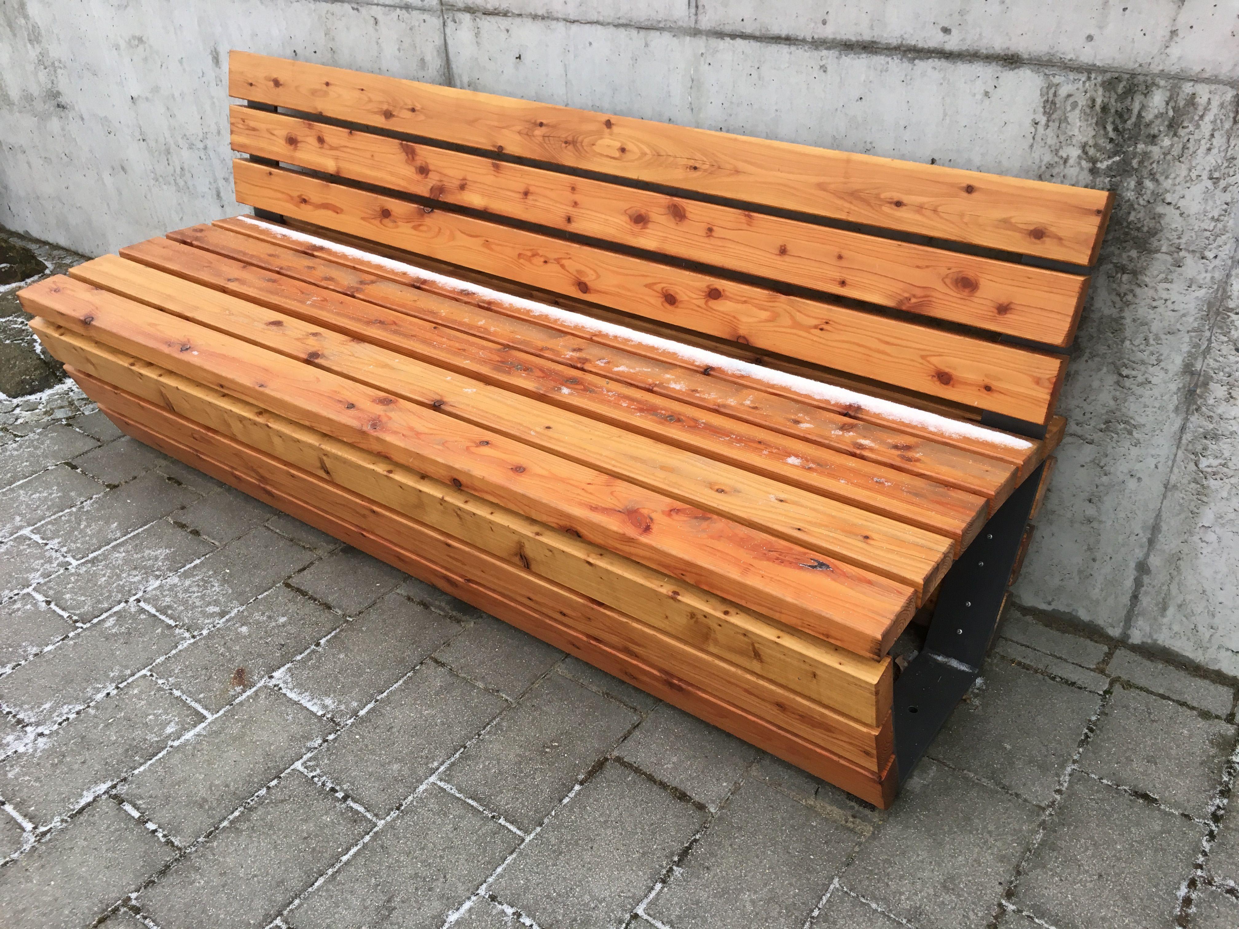Luxus Bank Aus Holzstamm Ideen