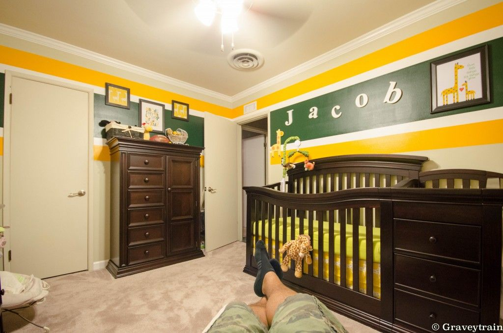 Lovely Jacobu0027s Green Bay Packers Nursery