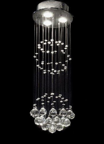 Modern Chandelier Rain Drop Chandeliers Lighting With Crystal Balls H31 X W10 The Gallery Http Crystal Chandelier Warehouse Of Tiffany Modern Chandelier