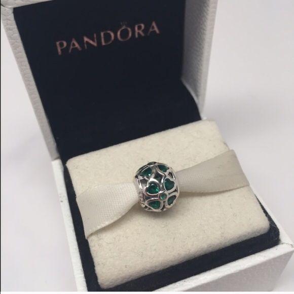 Pandora Green clover charm New pandora charm Pandora Jewelry