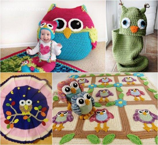 Crochet Owl Projects Lots Of Ideas You Will Love Owl Crochet Owls