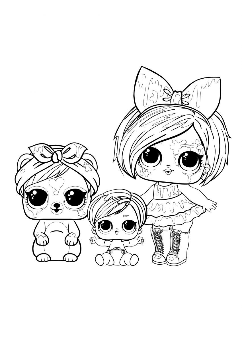Coloring Pages Lol Surprise In 2021 Unicorn Coloring Pages Halloween Coloring Sheets Mermaid Coloring Pages