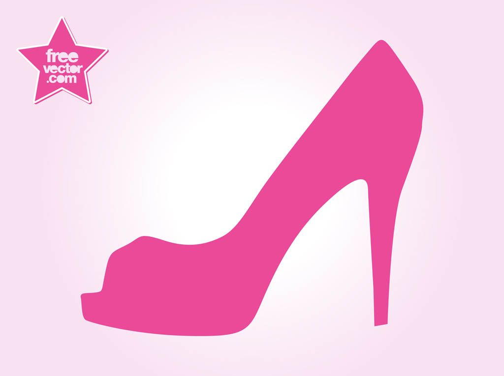 high heel template for cards - free high heel vectors cards socks and shoes pinterest