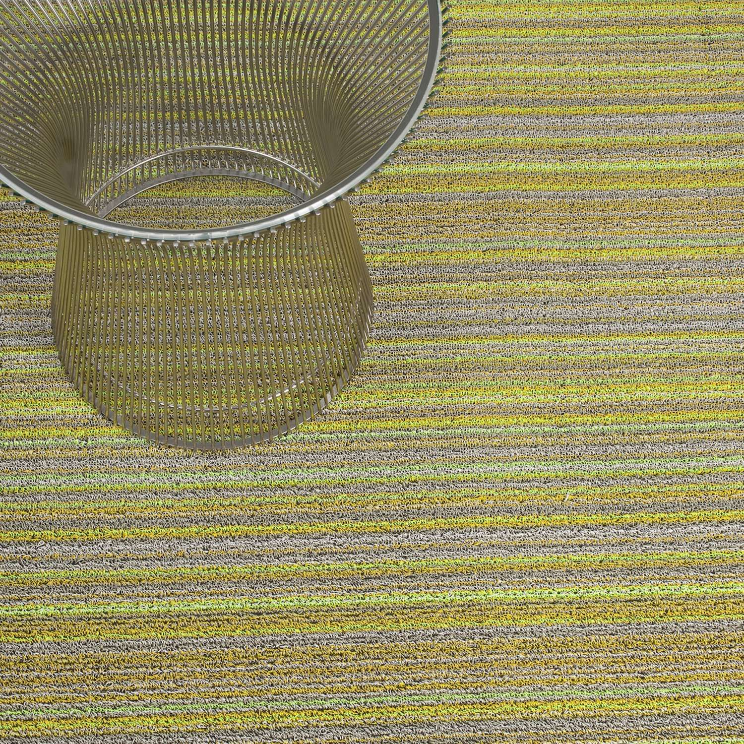Citron Chilewich Outdoor Mat Indoor Outdoor
