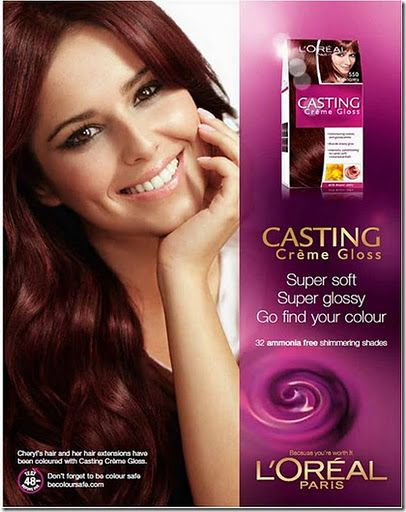 L Oreal Casting Crème Gloss 550 Mahogany Loreal Creme Beauty Tips For Hair