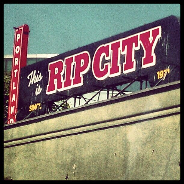 Portland Blazers Rip City
