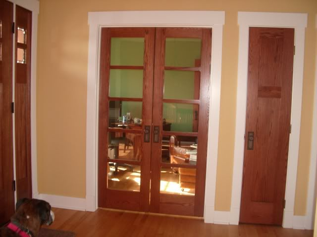 Wood Interior Doors With White Trim trim. all these decisions are a matter of personal preference, but