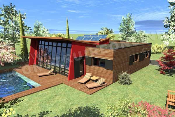plan maison BBC THEMIS vue ciel MAISONS Pinterest - faire ses plan de maison gratuit
