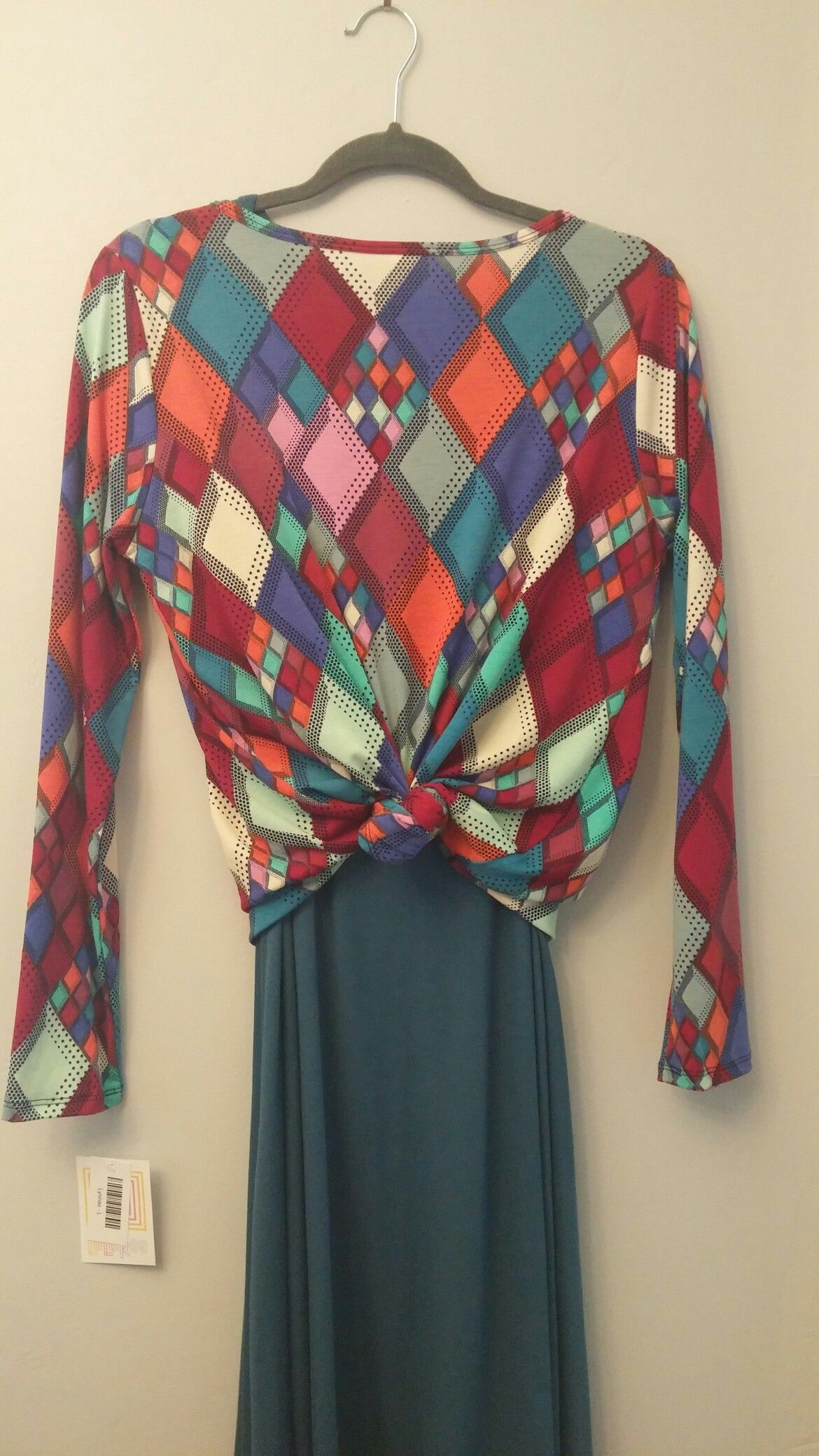 3c631d851e95 LuLaRoe #carly #dress #Lynnae #longsleeve #diamonds #patchwork ...
