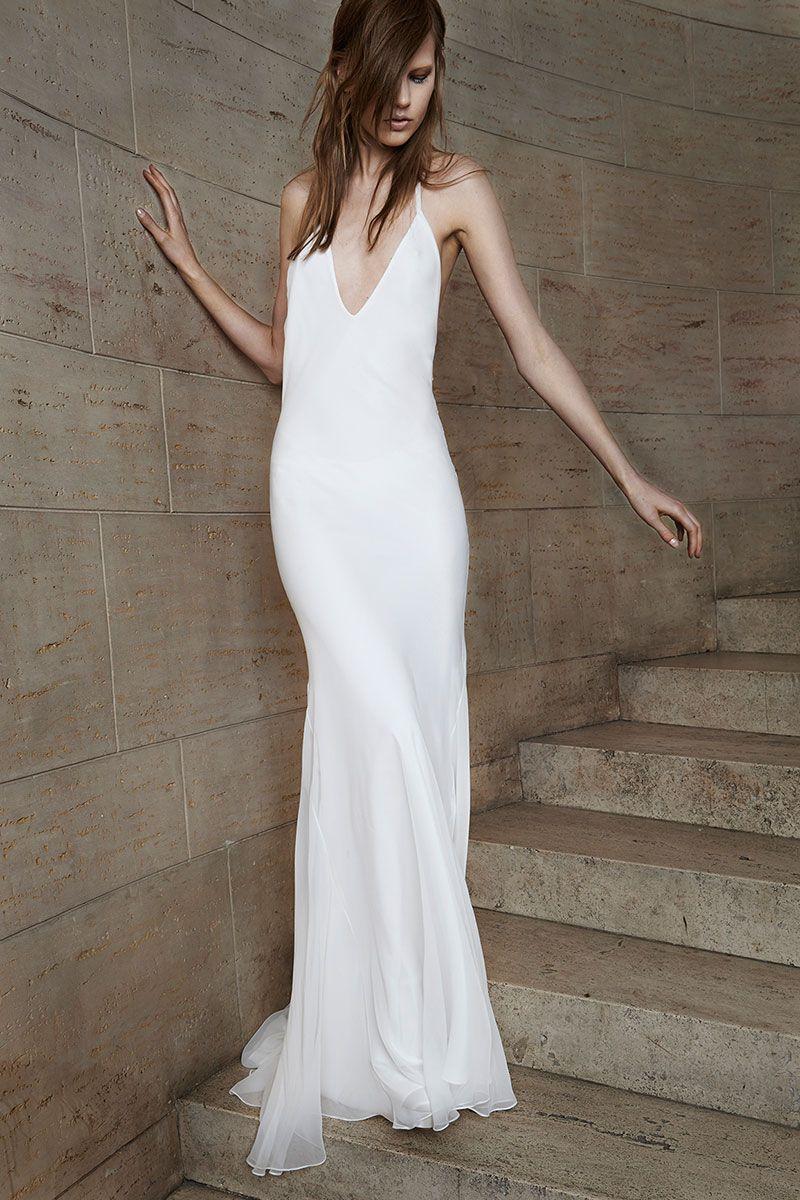 Best In Bridal Spring 2015 Vera Wang Bridal Wedding Dress Styles Minimal Wedding Dress