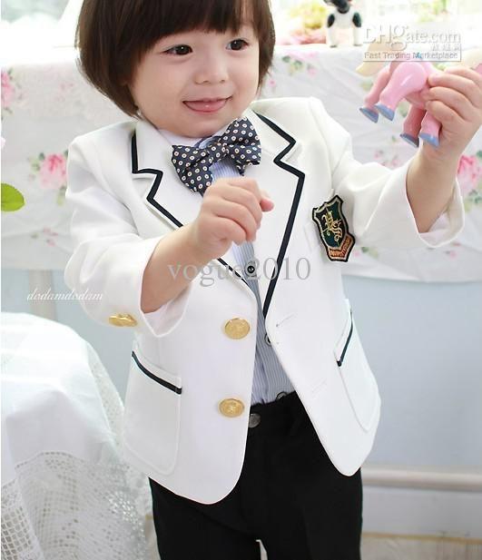 New fashion Boys Attire Boy Wedding Suit kid suits formal wear ...