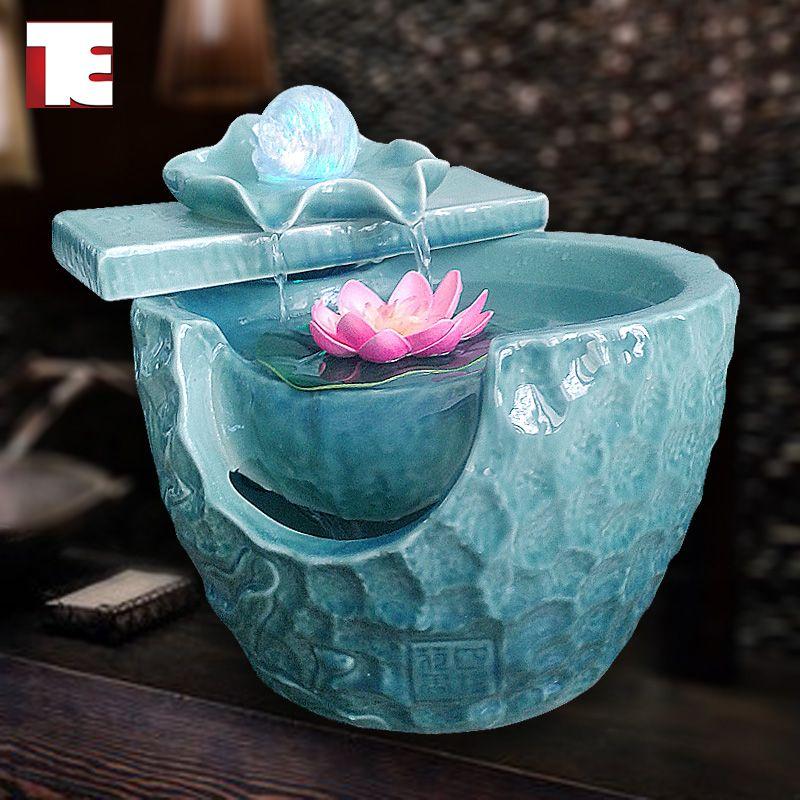 Ordovician ceramic fish tank home decoration water