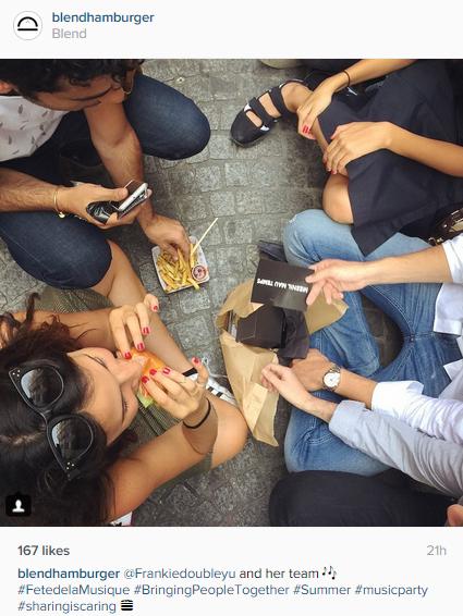 Great Instagram post from Blend à Paris, France / Sympathique post Instagram de Blend à Paris, France https://instagram.com/p/4MzuwfIaP6/