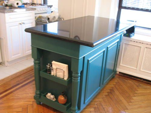 5 Foot Kitchen Island With Granite Top
